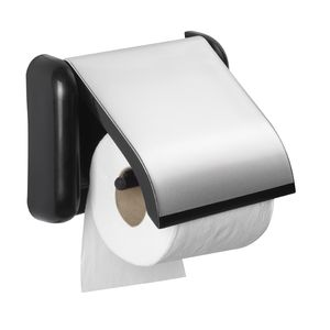 Porte-Papier-Wc-Foxy-Noir-Allibert